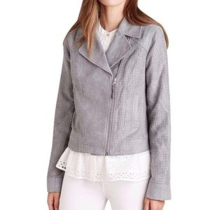 NEW Anthropologie HEI HEI grey Moro jacket S